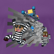 Design ~ Ladies T Shirt: COPS N ROBBERS!