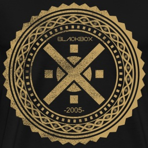 Intricate Circle Stencil Ornament - Men's Premium T-Shirt