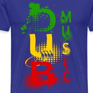 dub music T-Shirts - Men's Premium T-Shirt