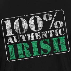 100% Authentic Irish - Men's Premium T-Shirt