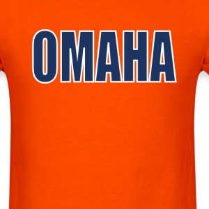 Omaha - Snap Count T-Shirts - Men's T-Shirt