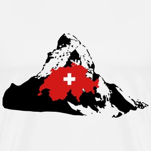 Matterhorn Switzerland T-Shirts - Men's Premium T-Shirt