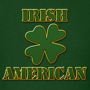 Irish American T-Shirt - Men's T-Shirt