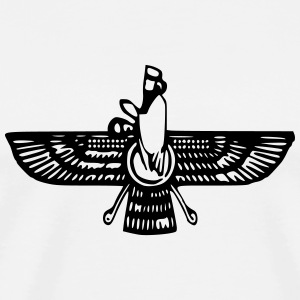 Persian Faravahar - Men's Premium T-Shirt