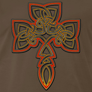 Celtic Cross T-Shirt - Men's Premium T-Shirt