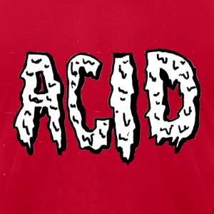 Acid shirt - Men's T-Shirt by American Apparel