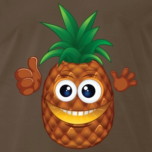 pineapple funny - Men's Premium T-Shirt
