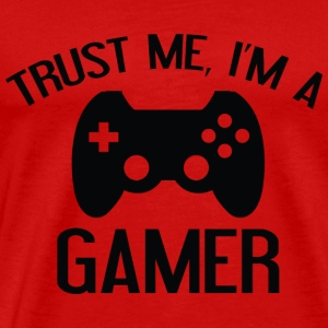 Trust Me, I'm A Gamer - Men's Premium T-Shirt
