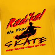Design ~  T-Shirt Radikal skate