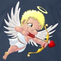 cupid with a halo