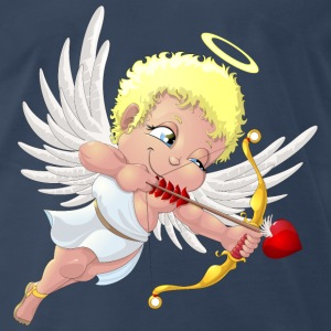 cupid with a halo - Men's Premium T-Shirt