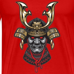 samurai mask 2 - Men's Premium T-Shirt