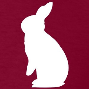 Rex Rabbit hare cony bunny bunnies leveret paws  T-Shirts - Men's T-Shirt