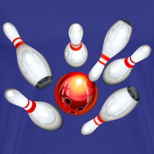 bowling pins - Men's Premium T-Shirt
