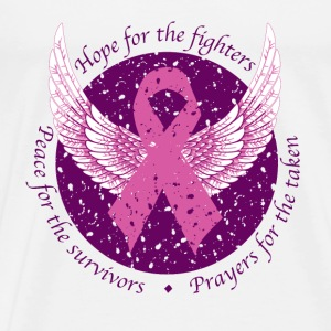 Hope For Fighters T-Shirts - Men's Premium T-Shirt