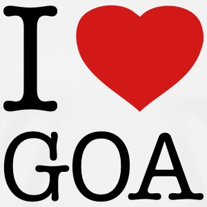 I LOVE GOA - Men's Premium T-Shirt