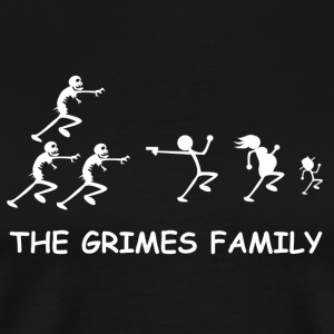 The Grimes Family - Men's Premium T-Shirt