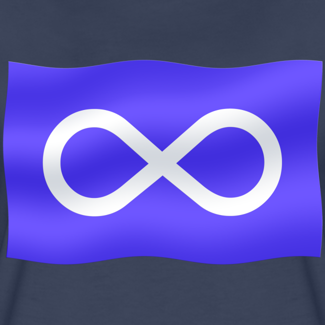 Women's Metis Flag T-shirt Plus Size Women's Metis Shirt