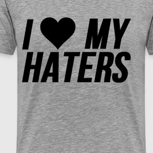 I Love Haters - Men's Premium T-Shirt