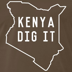 Kenya Dig It T-Shirts - Men's Premium T-Shirt