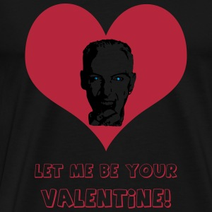 Let me be your Valentine! - dark side edition - Men's Premium T-Shirt