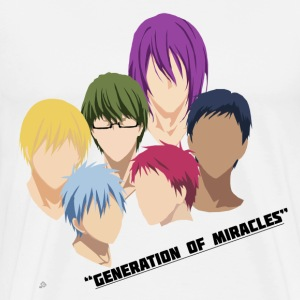 Kuroko no Basuke: Generation of Miracles T-Shirts - Men's Premium T-Shirt