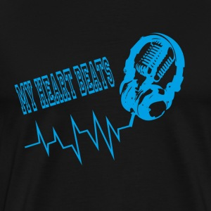 My Heart Beats T-Shirts - Men's Premium T-Shirt