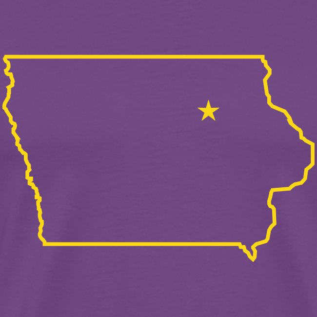 STATE OF IOWA - CEDAR FALLS CAPITAL T Shirt