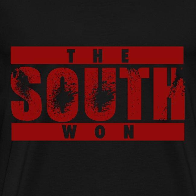 The South Won 3x/4x (black/red)