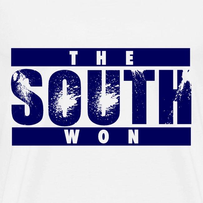The South Won 3x/4x (white/blue)