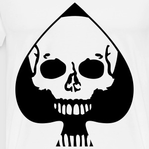 Ace of Spades Skull T-Shirts - Men's Premium T-Shirt