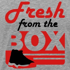 fresh from the box bred 11 T-Shirts