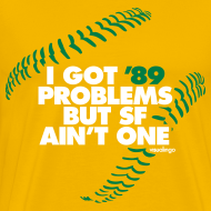 Design ~ '89 Problems (gold) - Men's Heavy Tee