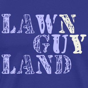 Lawn Guy Land  T-Shirts - Men's Premium T-Shirt