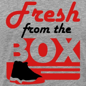 fresh from the box bred 11 T-Shirts - Men's Premium T-Shirt