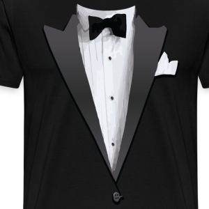 Tuxedo Jacket Costume T-shirt T-Shirts - Men's Premium T-Shirt