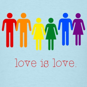 Love Is Love T-Shirts - Men's T-Shirt