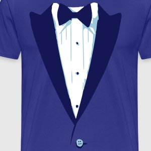 Custom Color Tuxedo Tshirt T-Shirts - Men's Premium T-Shirt