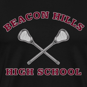 Beacon Hills High School Lacrosse T-Shirt - Men's Premium T-Shirt