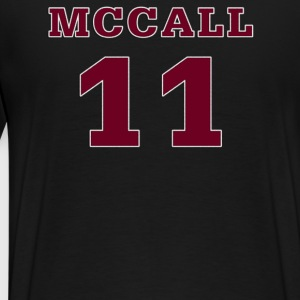 Beacon Hills Lacrosse MCCALL 11 On Back T-Shirt - Men's Premium T-Shirt