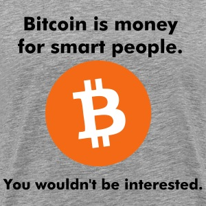 bitcoin T-Shirts - Men's Premium T-Shirt