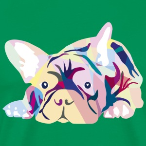 Pink Frenchie T-Shirts - Men's Premium T-Shirt