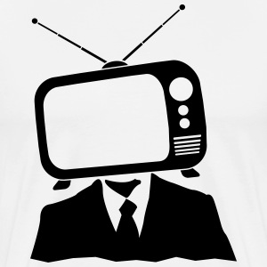 TV head Shirt - Men's Premium T-Shirt