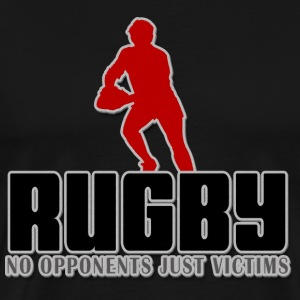 Rugby No Opponents Just Victims T-Shirt - Men's Premium T-Shirt