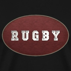 Rugby Leather Riveted T-Shirt