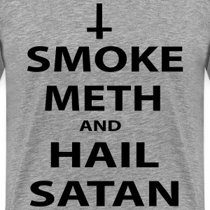 smoke meth T-Shirts - Men's Premium T-Shirt