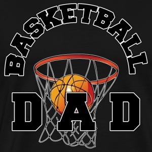 Basketball Dad Dark T-Shirt - Men's Premium T-Shirt