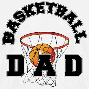 Basketball Dad T-Shirt - Men's Premium T-Shirt