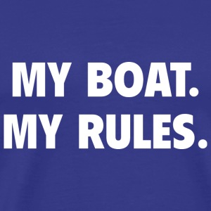 My Boat. My Rules. - Men's Premium T-Shirt