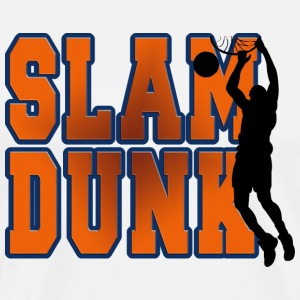 Basketball Slam Dunk T-Shirt - Men's Premium T-Shirt